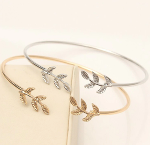 Women's Leaves Cuff Bracelet