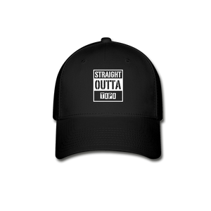 Straight Outta Tipi Baseball Cap - black