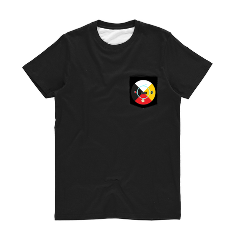 Fashion Ayasha Medicine Wheel Medicine Wheel Classic Pocket T-Shirt