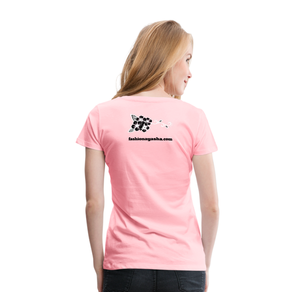 Best Friend 2 Women's Premium T-Shirt - pink