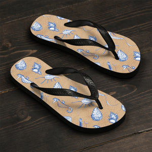 Sea Creatures Tan Sandals