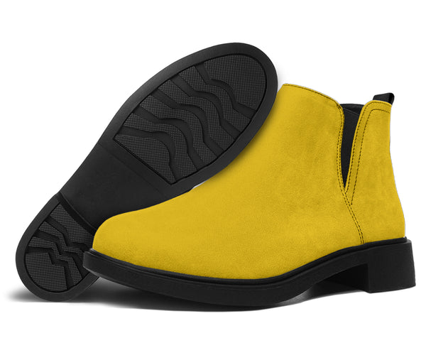 Yellow Fashion Ayasha Fashion Boots