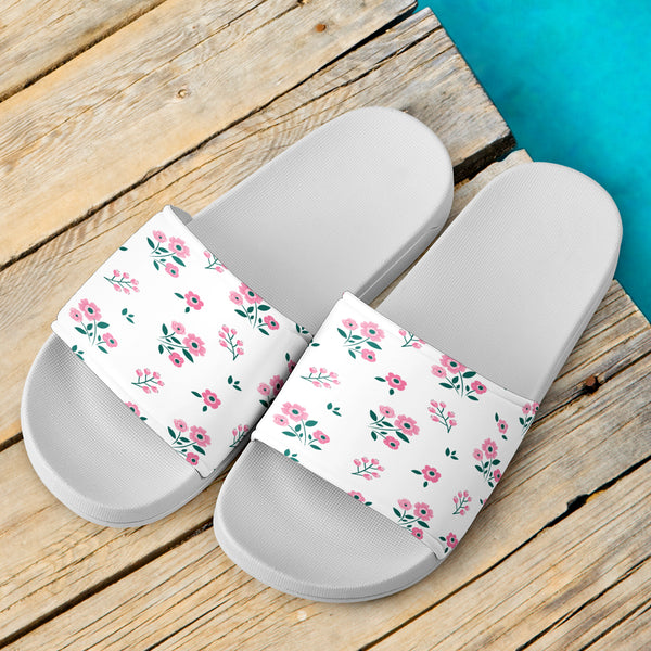 girls slide sandals