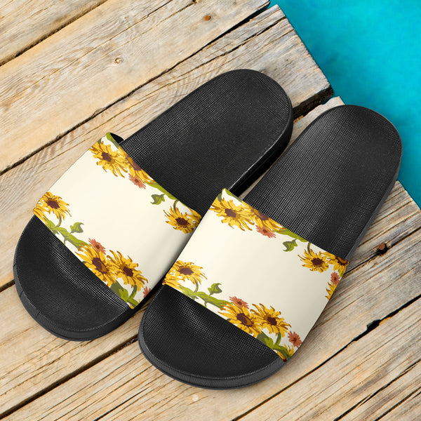 Sunflower Patch Slide Sandals