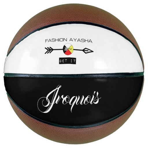 Iroquois Fashion Ayasha Sports Logo Basketball