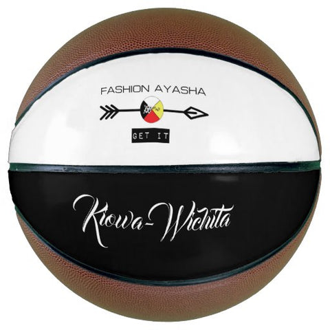 Kiowa-Wichita Fashion Ayasha Sports Logo Basketball