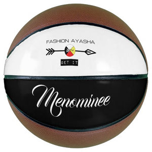Menominee Fashion Ayasha Sports Logo Basketball