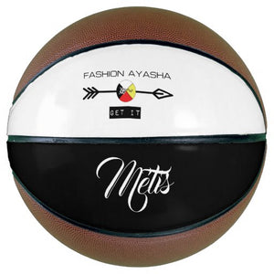 Métis Fashion Ayasha Sports Logo Basketball
