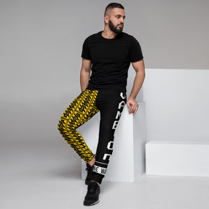 Caution One Way Game On Video Gamers Men's Joggers