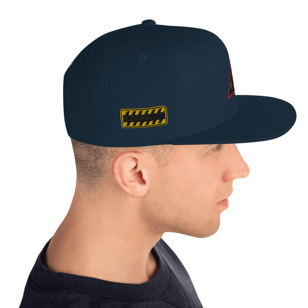 Caution One Way Game On Video Gamers Unisex Snapback Hat