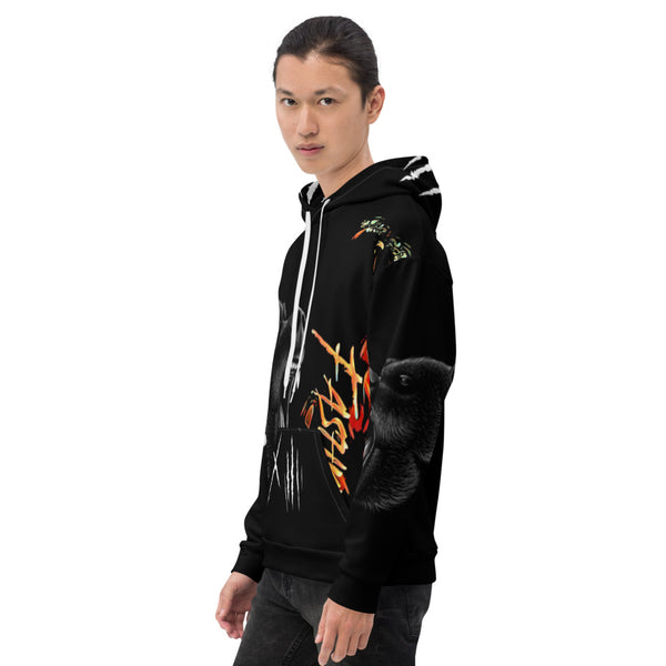 Men's Makwa Courage Black Hoodie