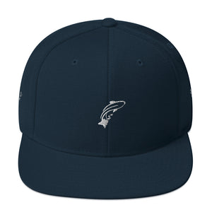 Fashion Ayasha Fish Logo Snapback Hat