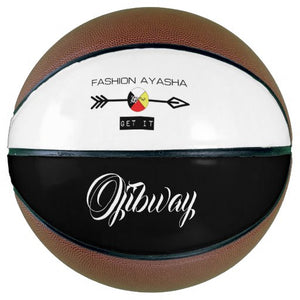Ojibway Fashion Ayasha Sports Logo Basketball