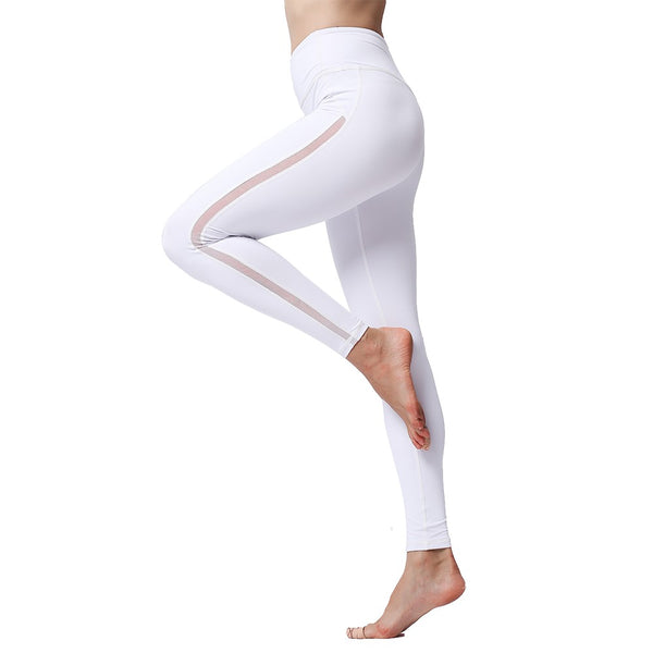 Women's Ayasha Fitness White Leggings
