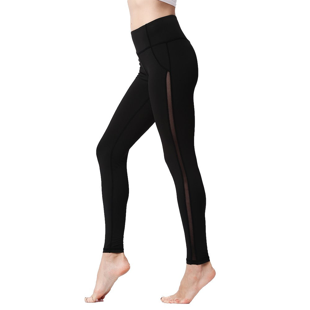 Women's Ayasha Fitness Black Leggings