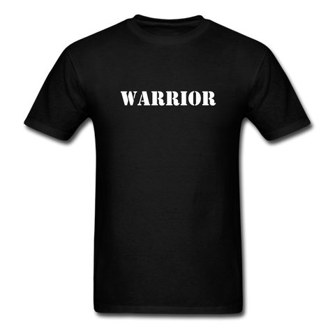 Warrior Men's T-Shirt - black