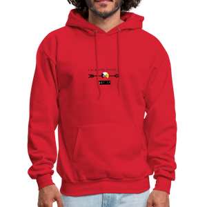 Men's Red Sportswear Hoodie - red