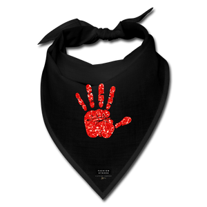 MMIW Bandana Face Mask - black