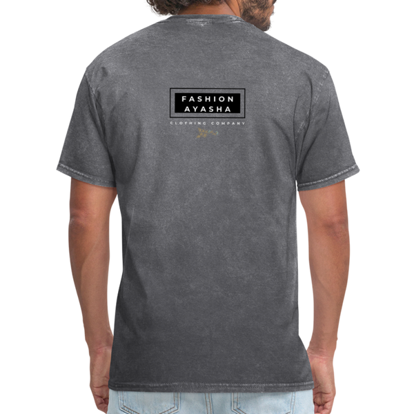 Dad Gone Fishing Men's T-Shirt - mineral charcoal gray