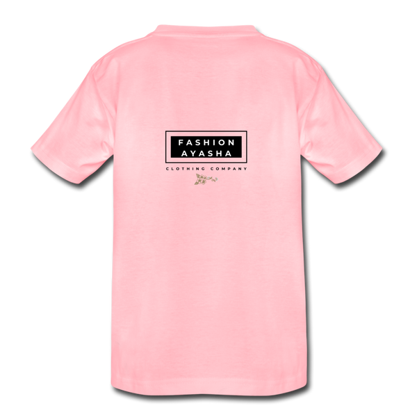 Princess Fashion Ayasha Kids' Premium T-Shirt - pink
