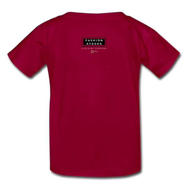 Kids' T-Shirt - dark red