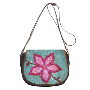 Turquoise Leather Floral Mini Bag Clutch -https://www.ayashaloyadesigns.com/products/turquoise-leather-floral-mini-bag-clutch