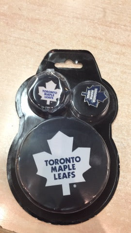 Toronto Maple Leafs Puck Combo
