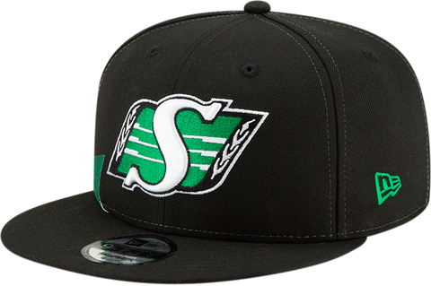 Saskatchewan Roughriders On Field Snapback