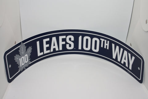 Toronto Maple Leafs Street Sign