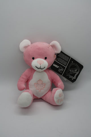 Toronto Maple Leafs Small Pink Bear
