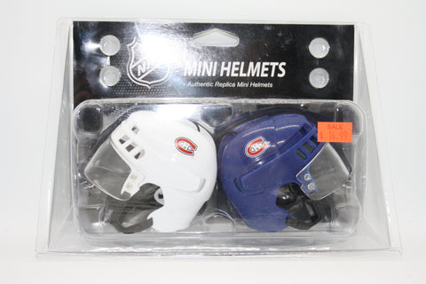 Montreal Canadians Windshield Mini-Helmets
