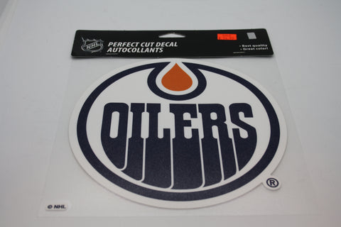 Edmonton Oilers 8x8 Decal