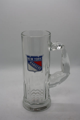 New York Rangers Large Glass