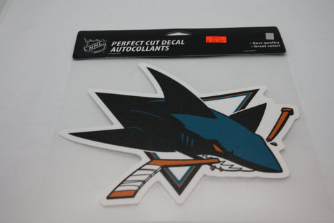 San Jose Sharks 8x8 Decal