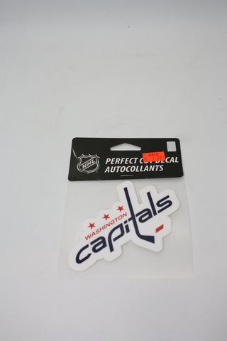 Washington Capitals 4x4 Decal