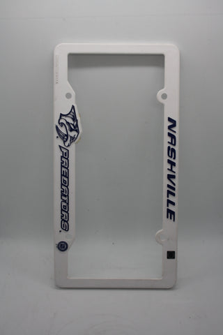 Nashville Predators License Plate Frame