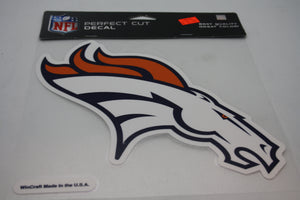 Denver Broncos 8x8 Decal
