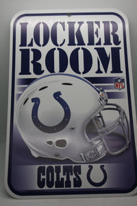 Indianapolis Colts Lockeroom Sign