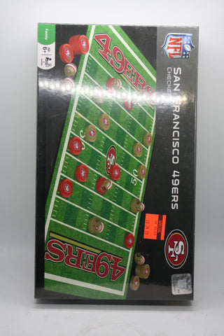 San Francisco 49ers Checkers