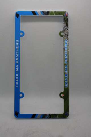 Carolina Panthers License Plate Frame