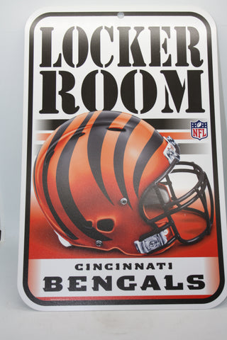 Cincinnati Bengals Locker Room Sign