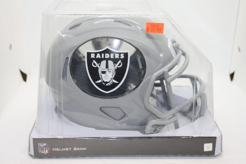 Oakland Raiders Helmet Bank