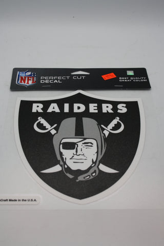 Oakland Raiders 8x8 Decal