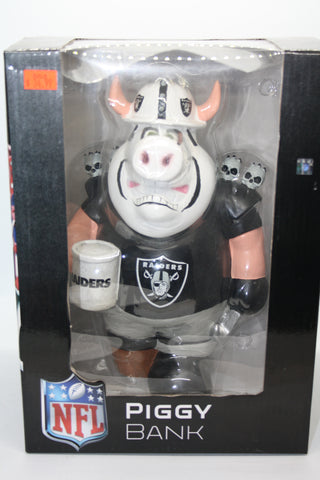 Oakland Raiders Piggy Bank