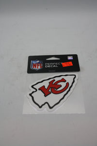 Kansas City Chiefs 4x4 Decal