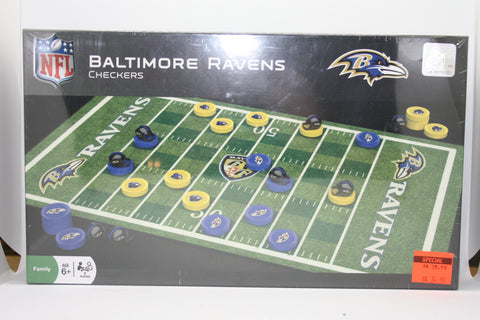 Baltimore Ravens Checkers