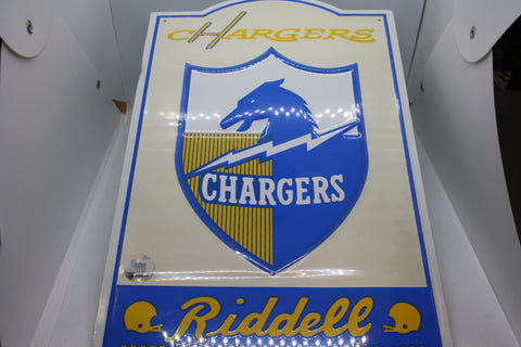 Los Angeles Chargers Metal Sign