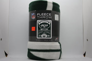 New York Jets Fleece Throw