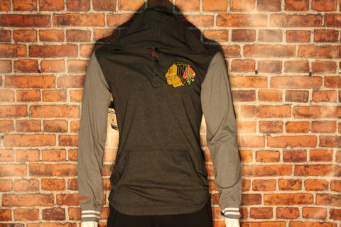 Chicago Blackhawks Mid Season Long Sleeve Hood