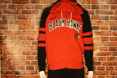 Chicago Blackhawks Full Zip Men's Sweater